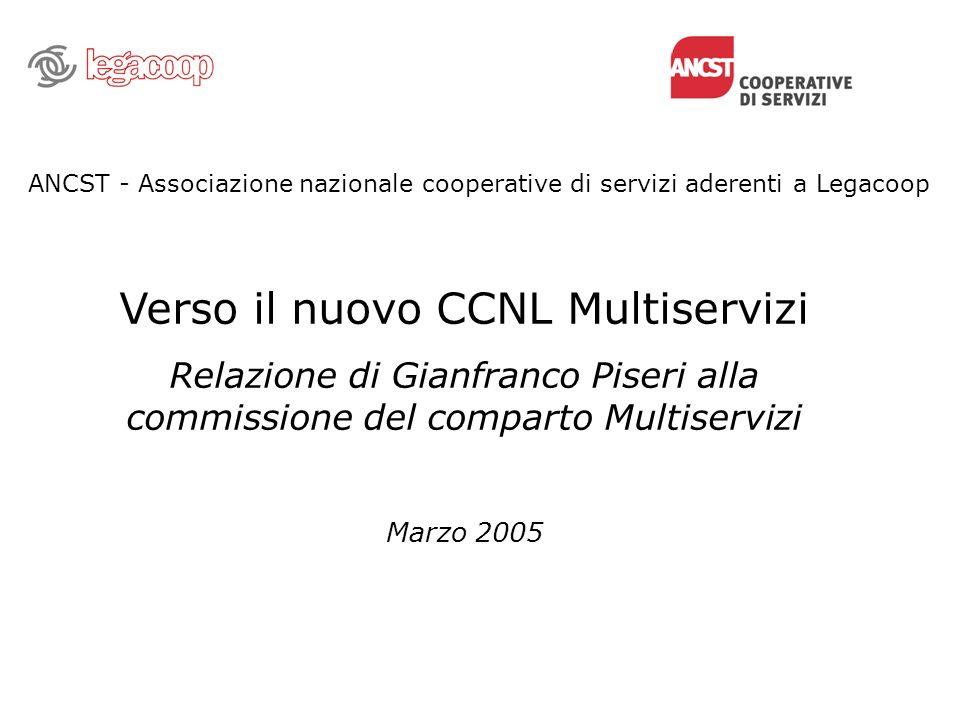 Verso il nuovo CCNL Multiservizi