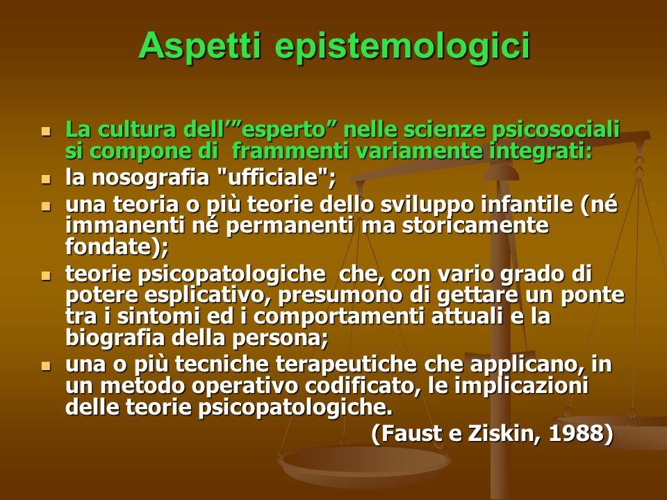 Aspetti epistemologici