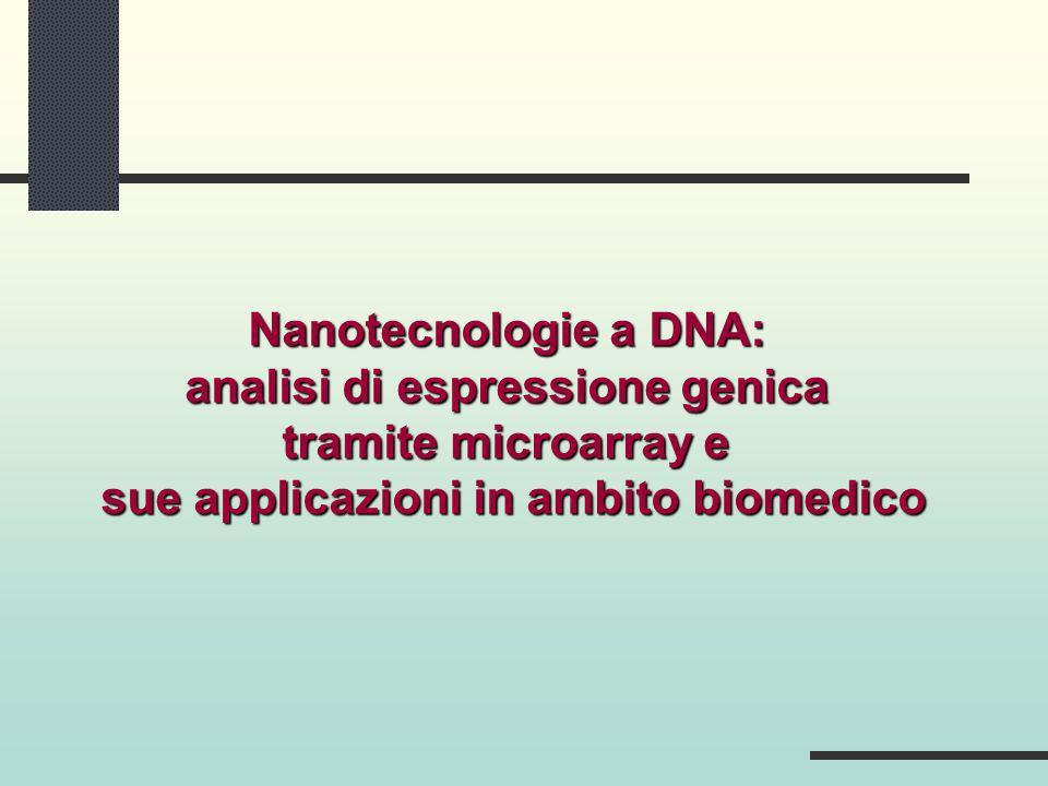 analisi di espressione genica sue applicazioni in ambito biomedico