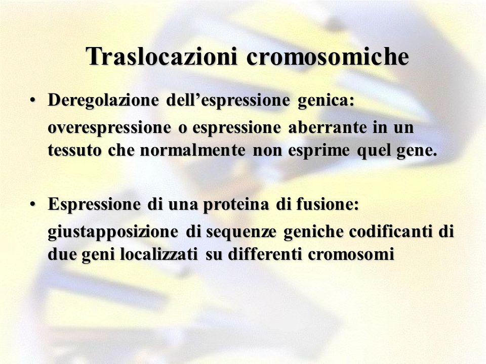 Traslocazioni cromosomiche