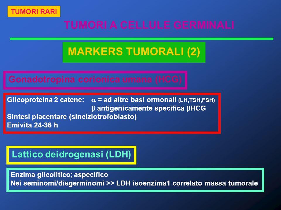 Gonadotropina corionica umana (HCG) Lattico deidrogenasi (LDH)