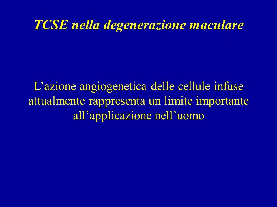 TCSE nella degenerazione maculare