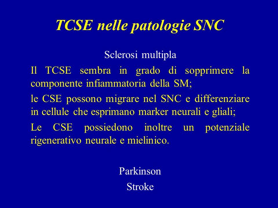 TCSE nelle patologie SNC