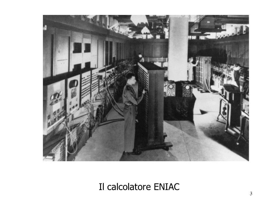 Il calcolatore ENIAC