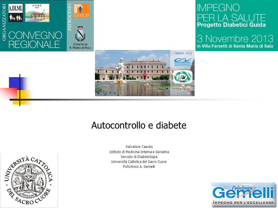 Autocontrollo e diabete