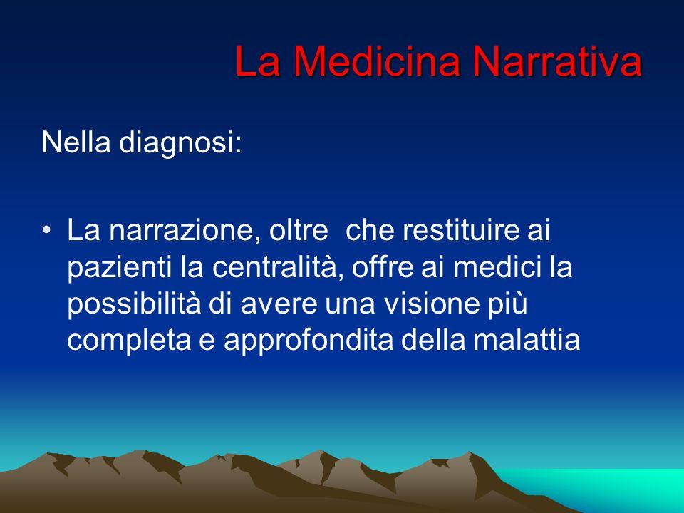 La Medicina Narrativa Nella diagnosi: