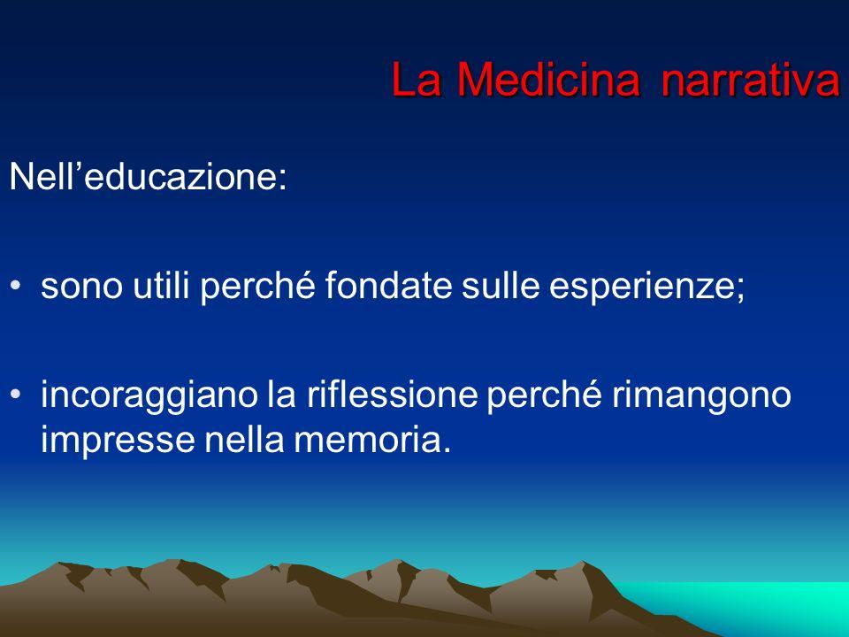 La Medicina narrativa Nell'educazione: