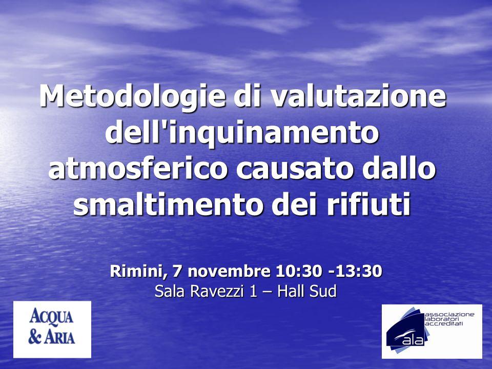 Rimini, 7 novembre 10:30 -13:30 Sala Ravezzi 1 – Hall Sud