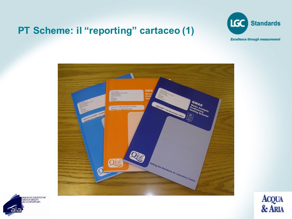PT Scheme: il reporting cartaceo (1)