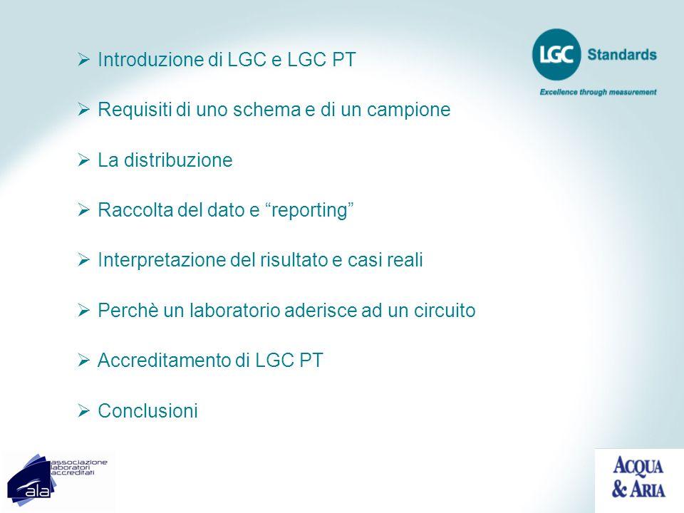 Introduzione di LGC e LGC PT