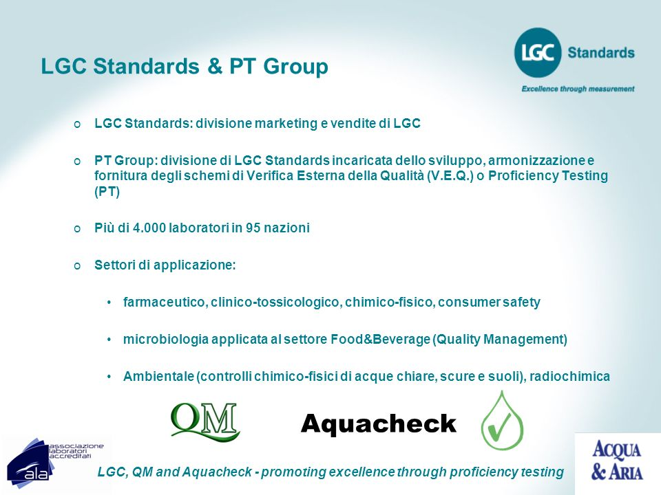 LGC Standards & PT Group