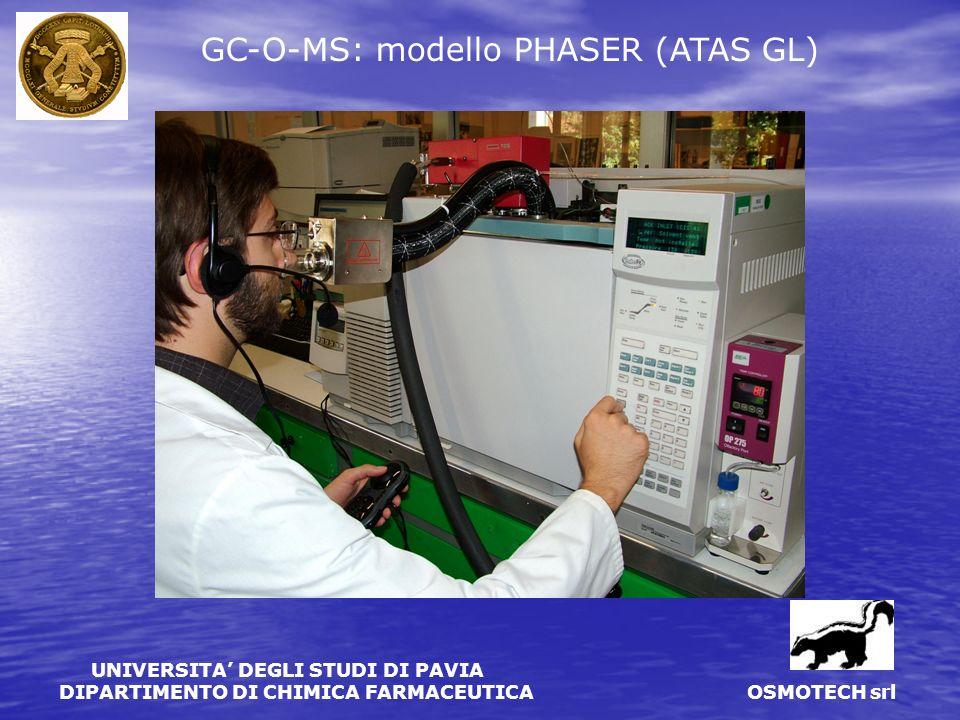 GC-O-MS: modello PHASER (ATAS GL)