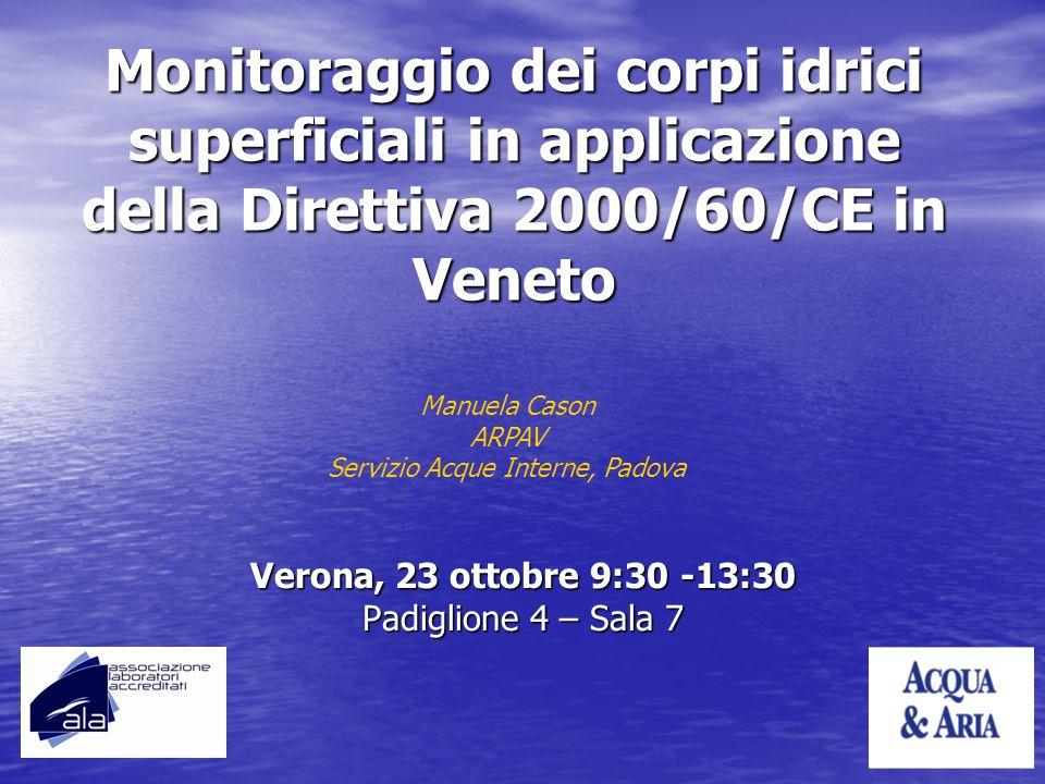 Verona, 23 ottobre 9:30 -13:30 Padiglione 4 – Sala 7
