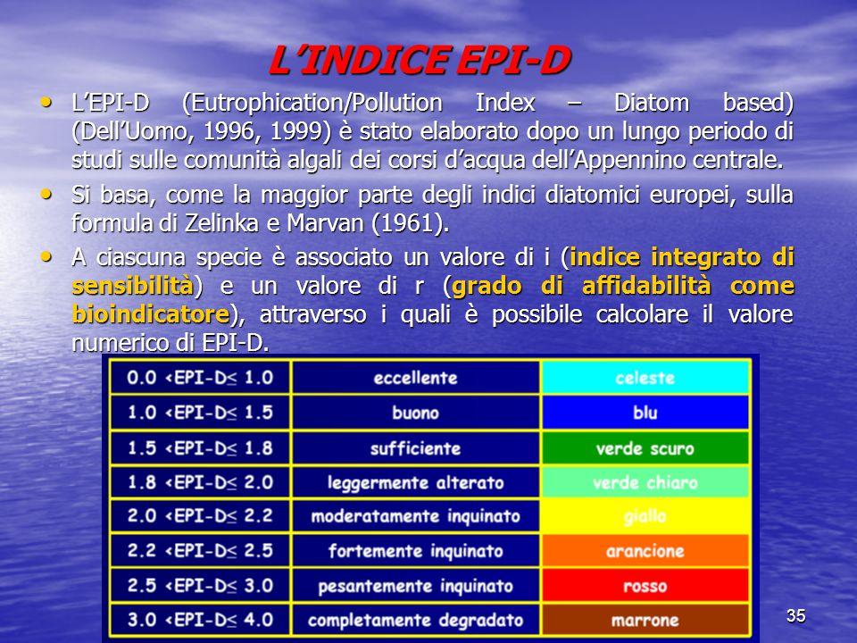 L'INDICE EPI-D