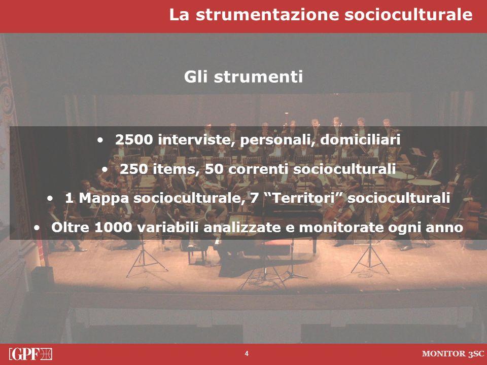 La strumentazione socioculturale