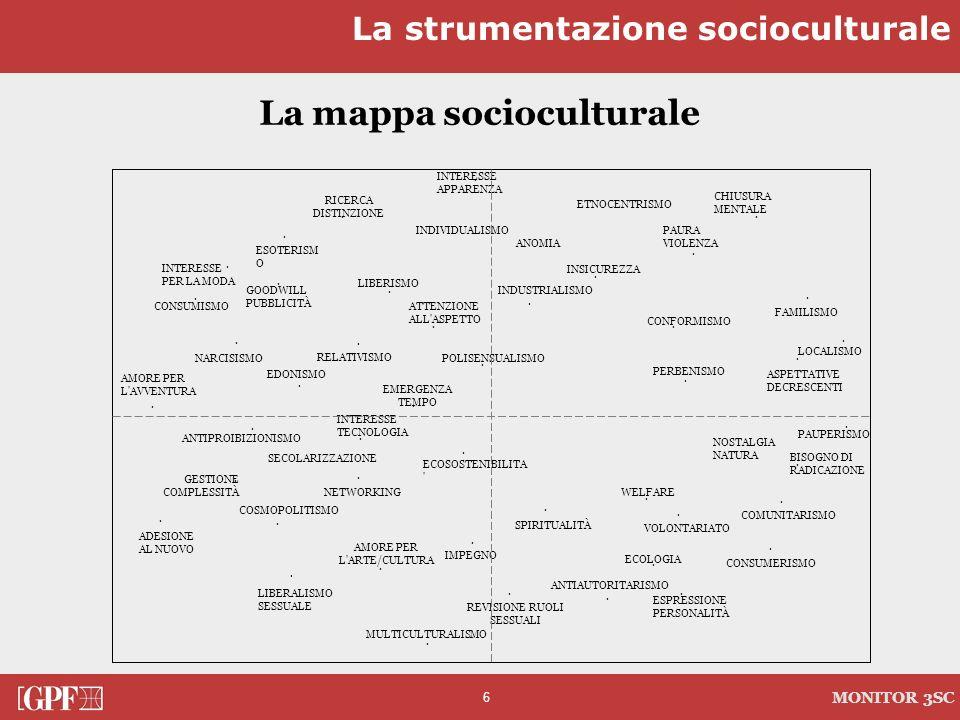 La mappa socioculturale