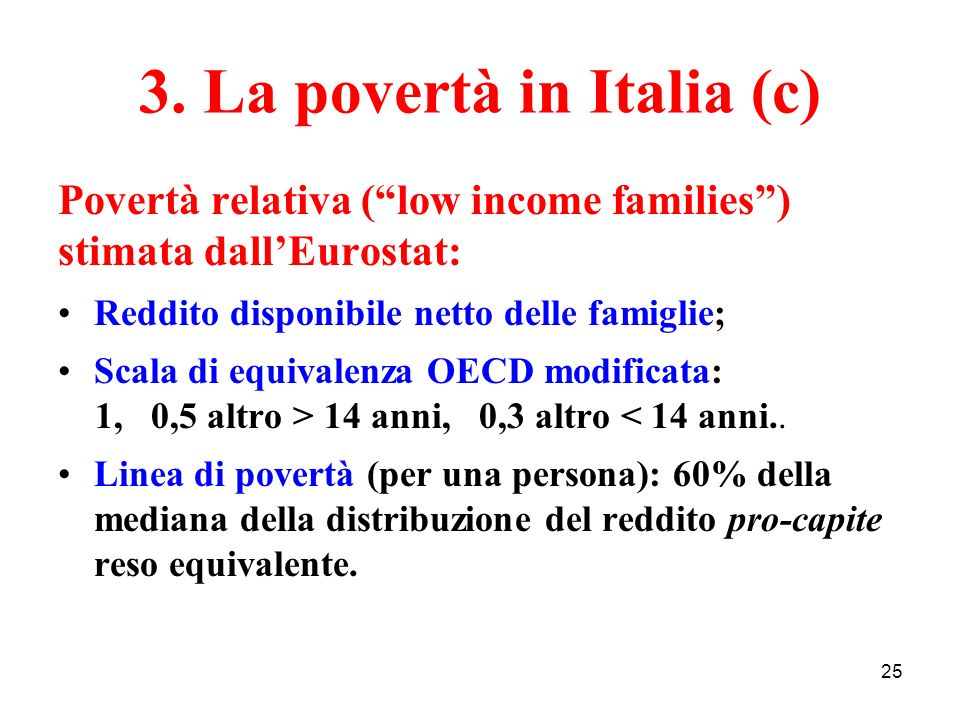 3. La povertà in Italia (c)