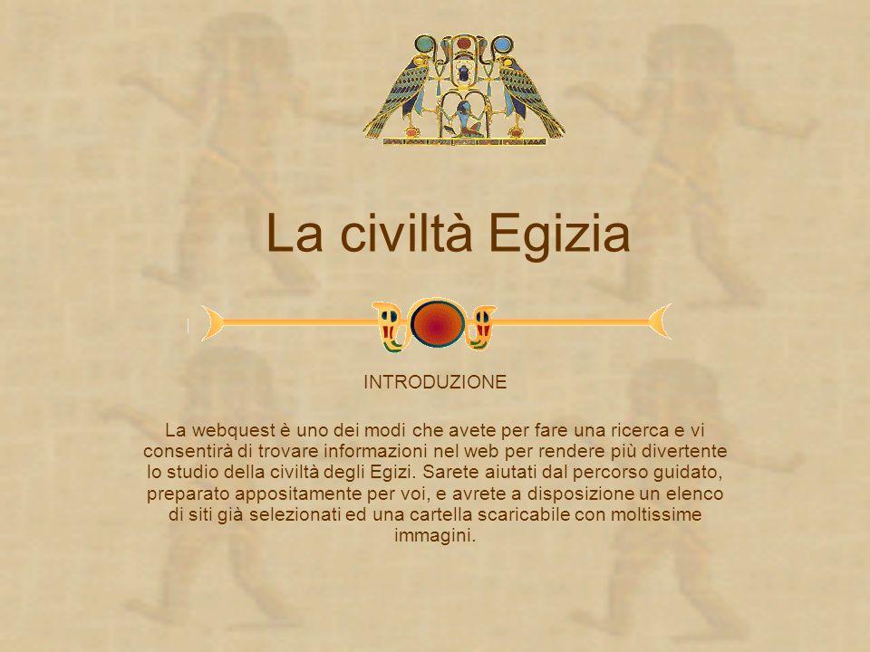 La civiltà Egizia INTRODUZIONE