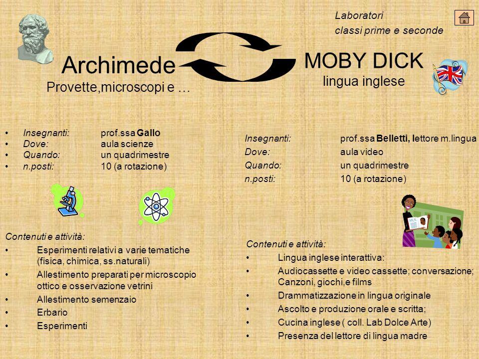 Archimede Provette,microscopi e …