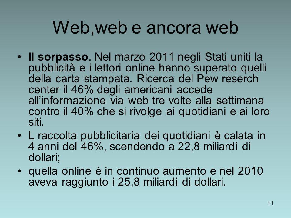 Web,web e ancora web