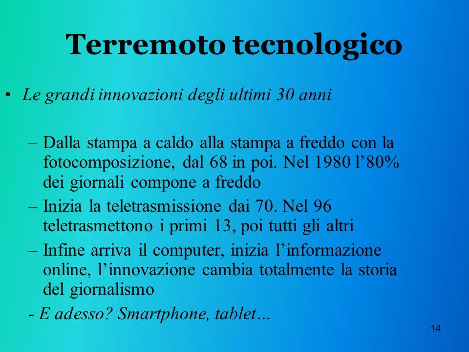 Terremoto tecnologico