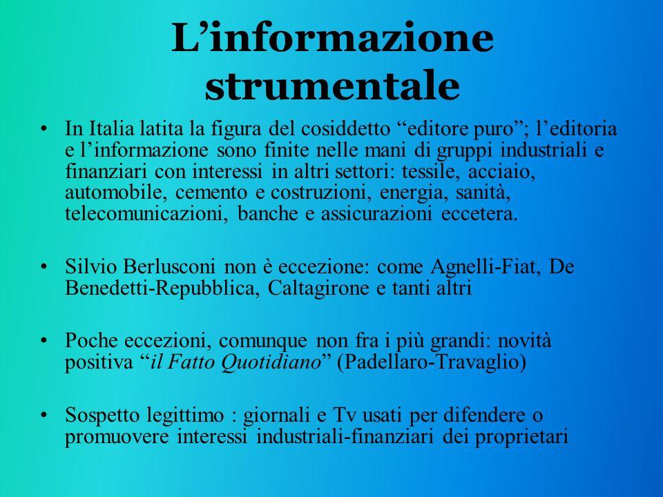 L'informazione strumentale
