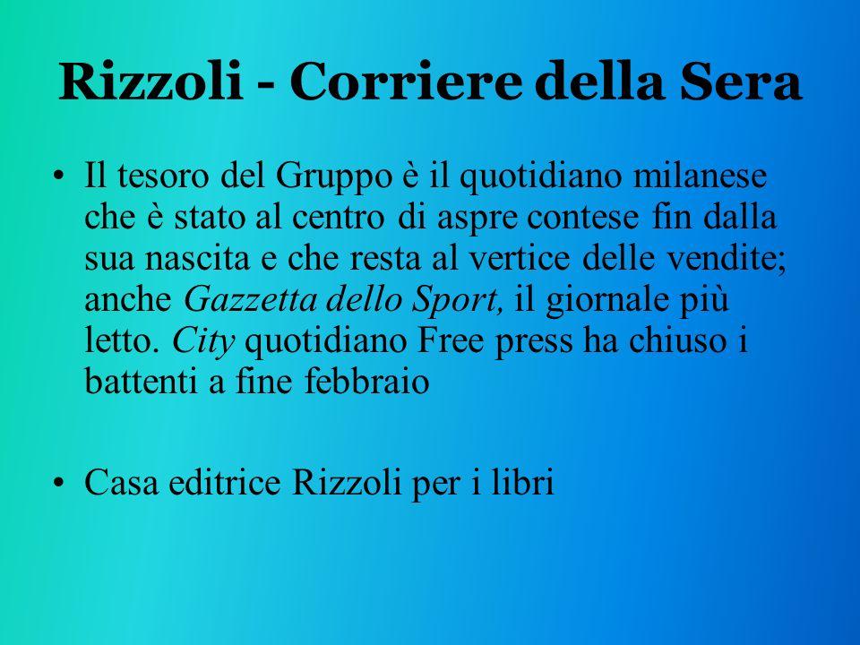 Rizzoli - Corriere della Sera