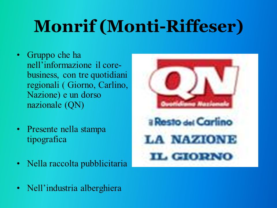 Monrif (Monti-Riffeser)