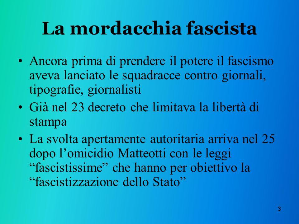 La mordacchia fascista