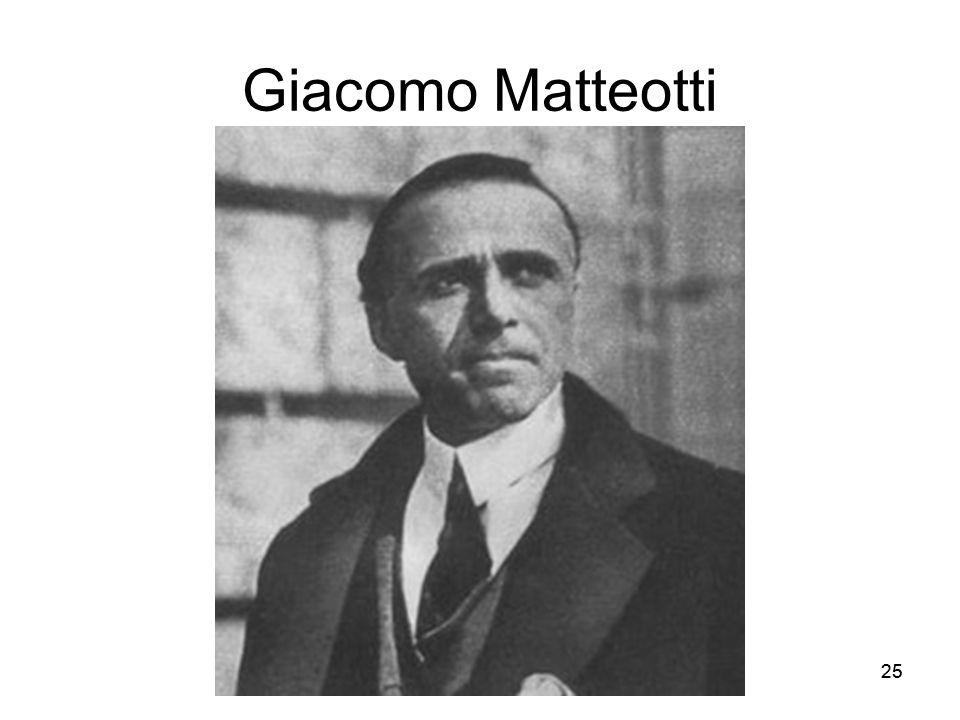 Giacomo Matteotti 25
