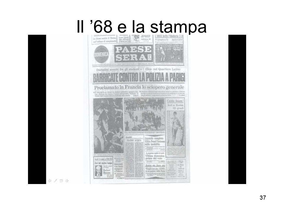 Il '68 e la stampa 37