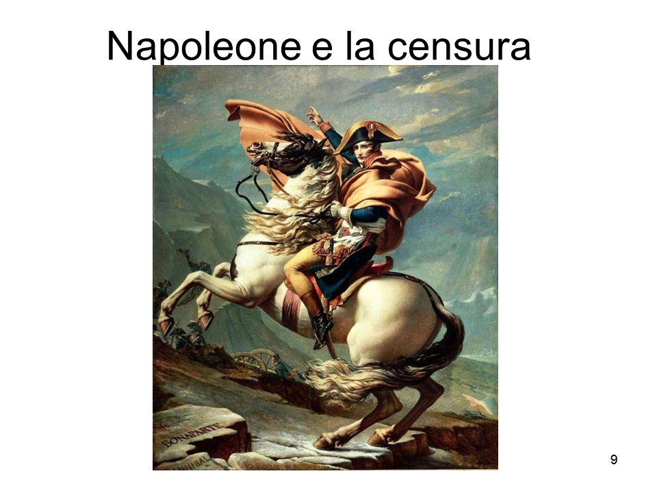 Napoleone e la censura 9