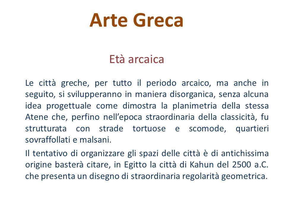 Arte Greca Età arcaica