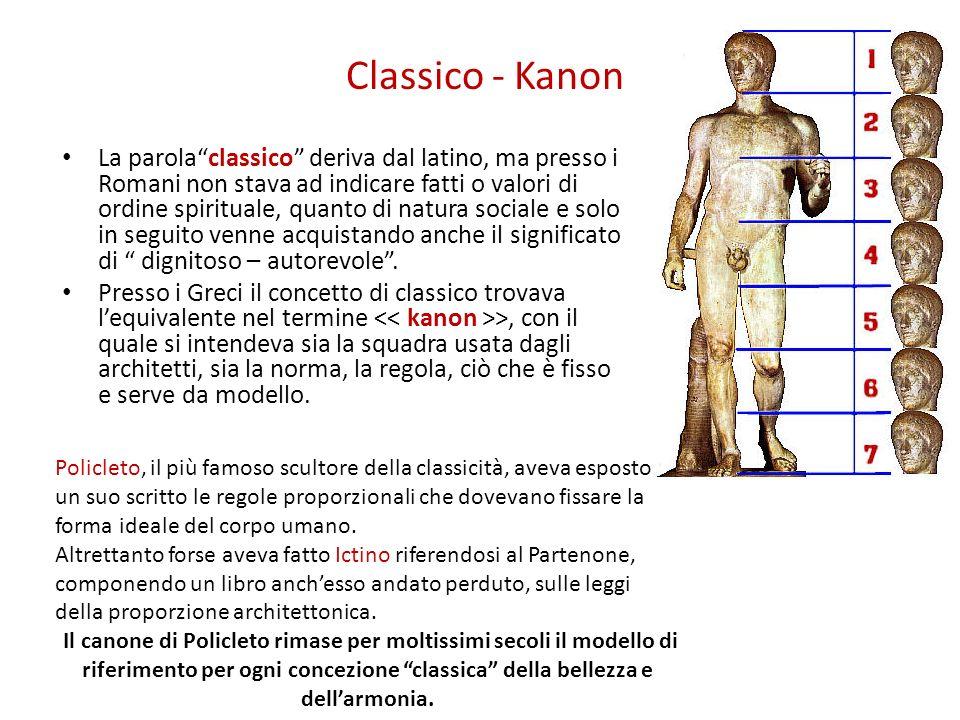 Classico - Kanon