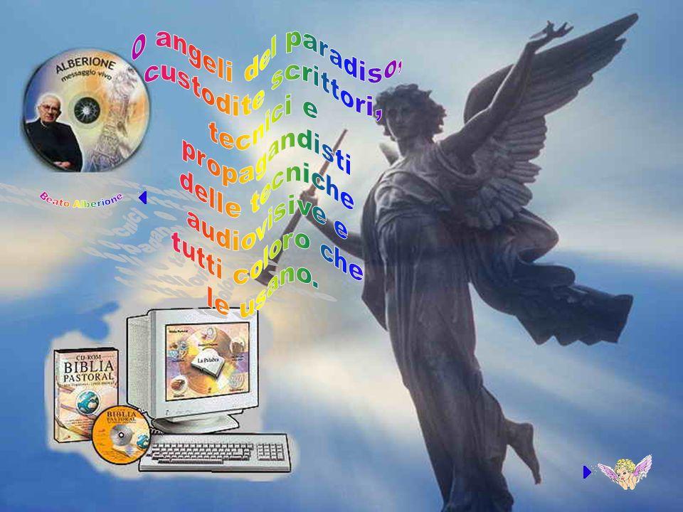 O angeli del paradiso, custodite scrittori, tecnici e propagandisti