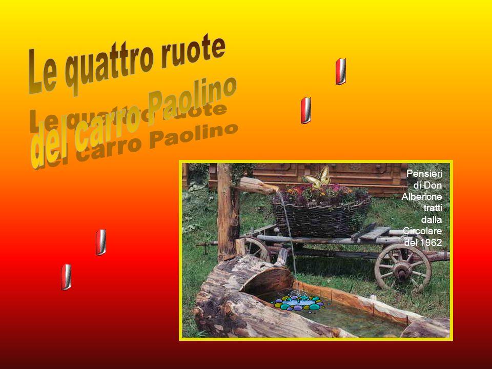 Le quattro ruote del carro Paolino