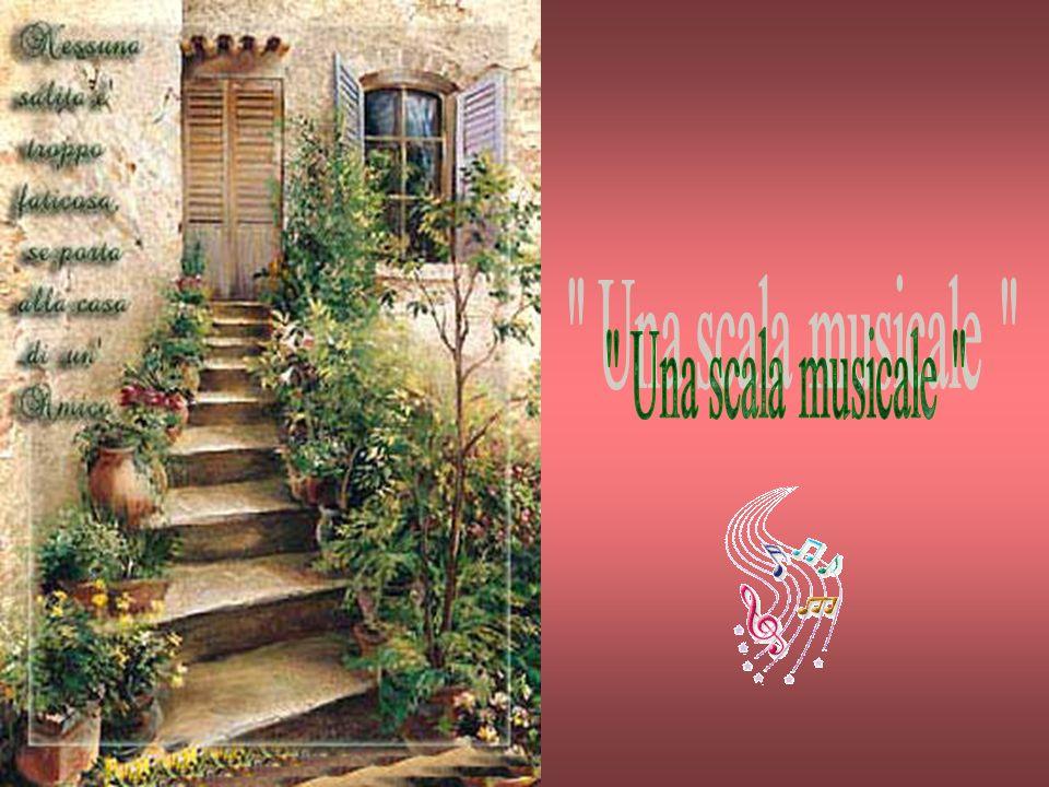 Una scala musicale