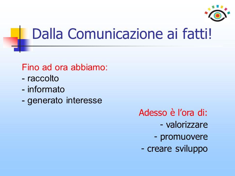 Dalla Comunicazione ai fatti!