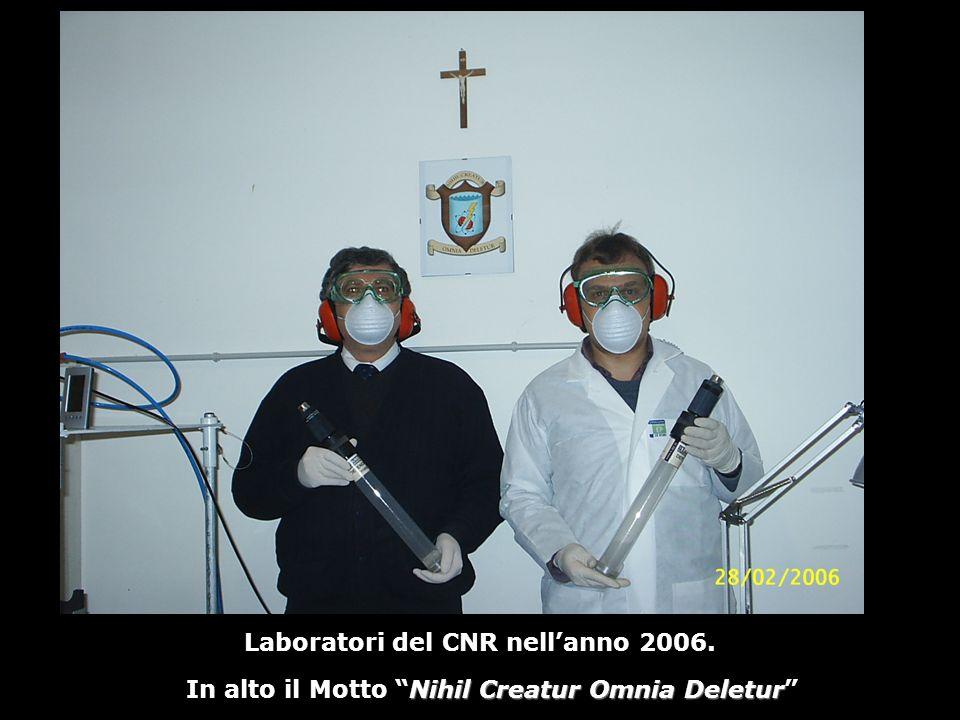 Laboratori del CNR nell'anno 2006.