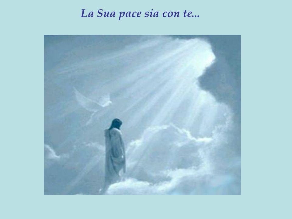 La Sua pace sia con te...