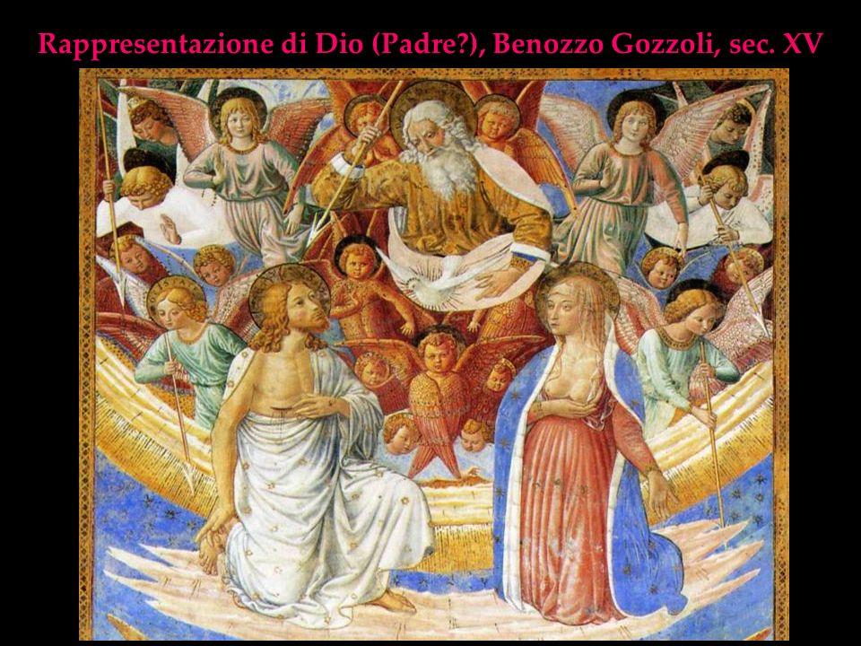 Rappresentazione di Dio (Padre ), Benozzo Gozzoli, sec. XV