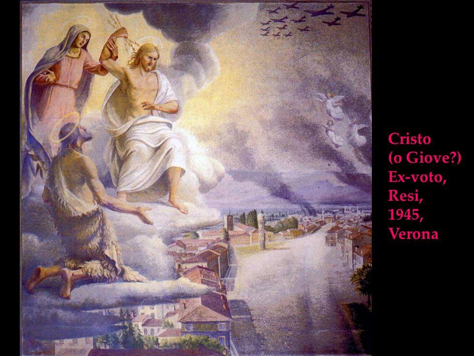 Cristo (o Giove ) Ex-voto, Resi, 1945, Verona