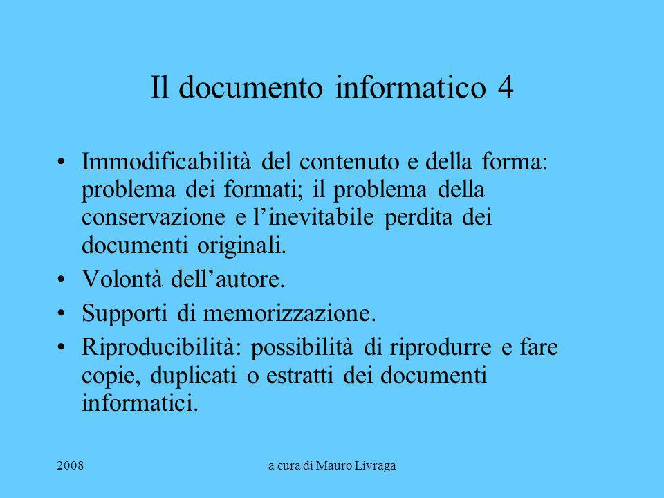 Il documento informatico 4