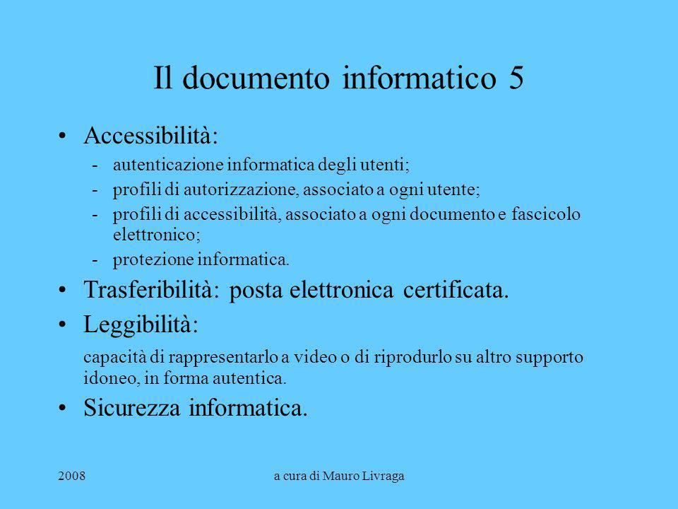 Il documento informatico 5