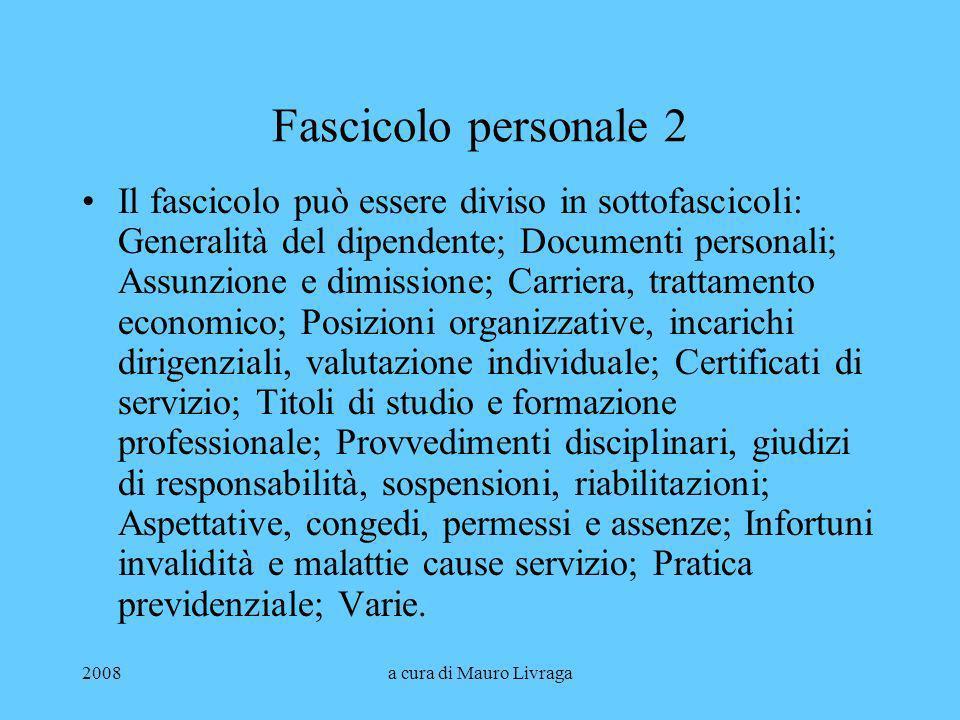 Fascicolo personale 2