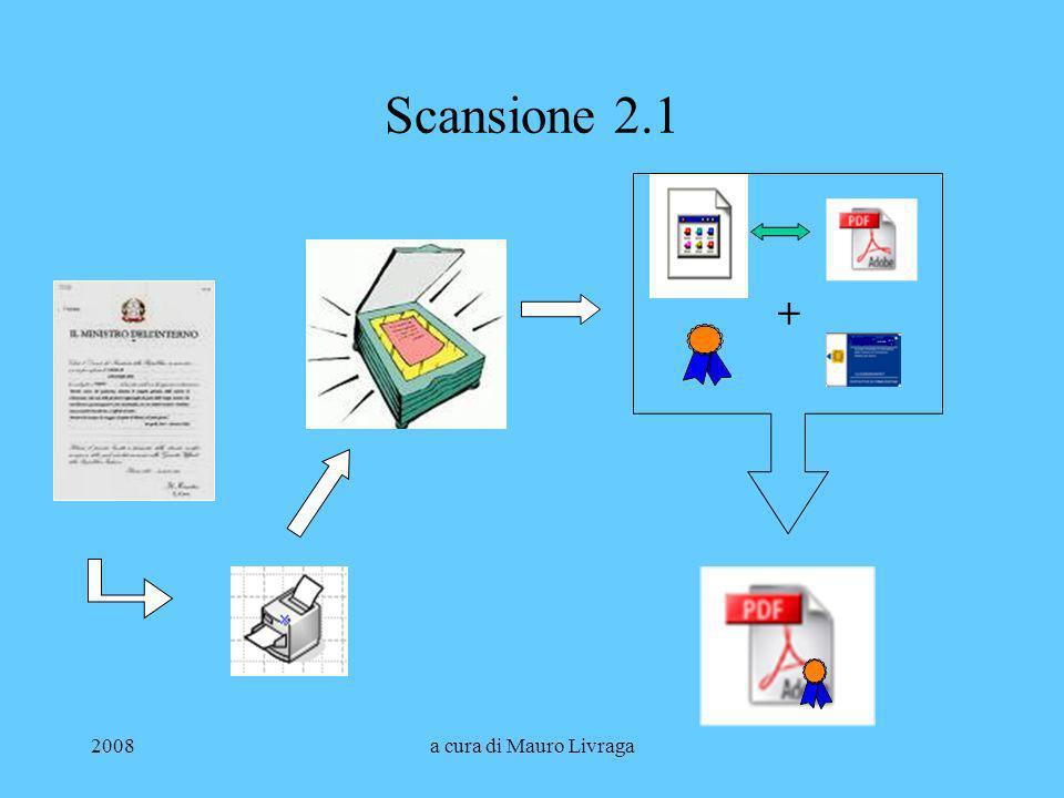 Scansione 2.1 + 2008 a cura di Mauro Livraga