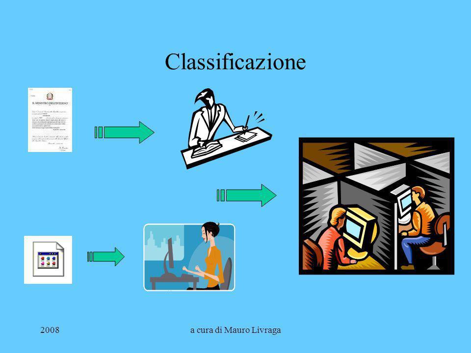 Classificazione 2008 a cura di Mauro Livraga