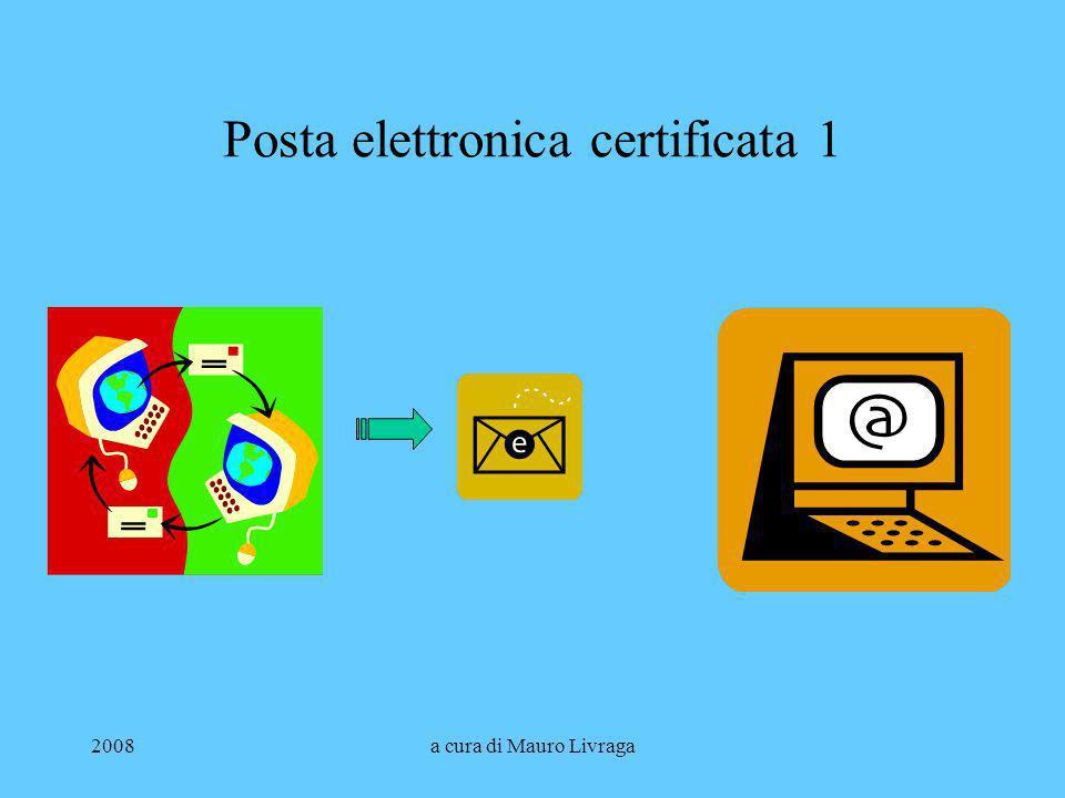 Posta elettronica certificata 1