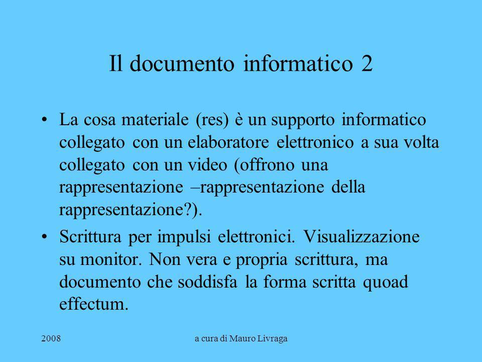 Il documento informatico 2