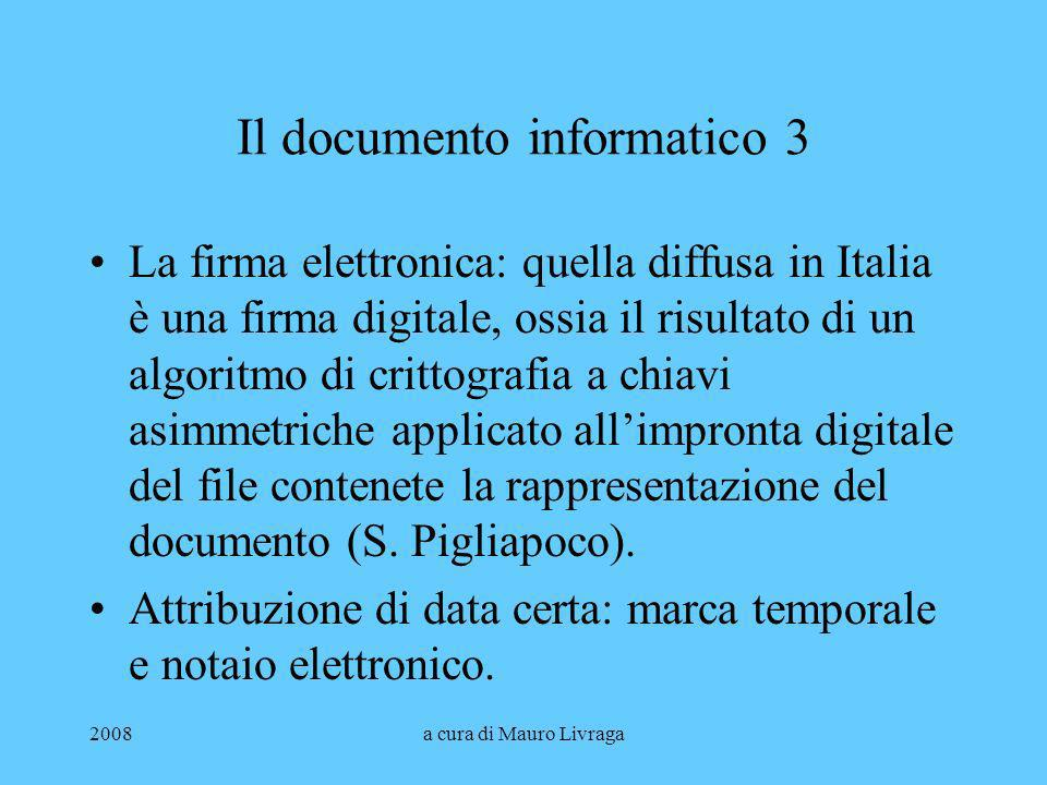 Il documento informatico 3